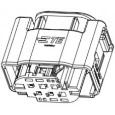 Mercedes accelerator pedal position sensor plug